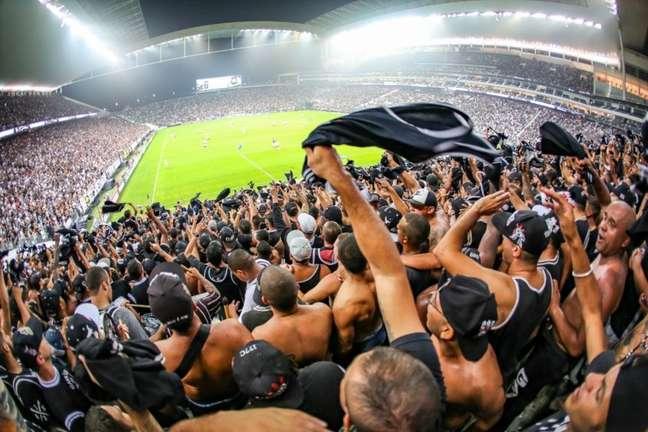 Torcida do Timão poderá voltar a lotar a Neo Química Arena em 7 de novembro (Foto: Bruno Teixeira/Corinthians)