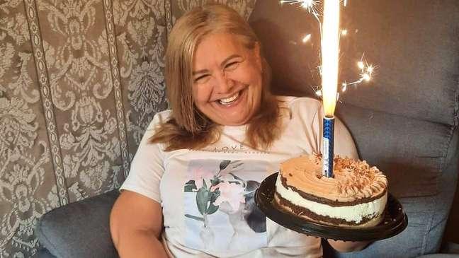 Martha Sepúlveda comemorou 51 anos de vida em janeiro