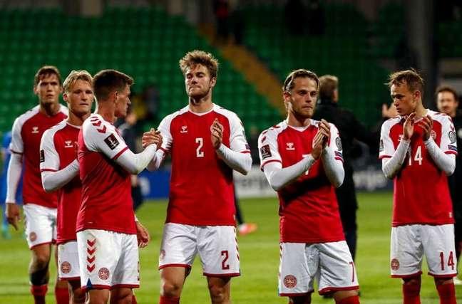Dinamarca segue com 100% de aproveitamento nas Eliminatórias (Foto: Bogdan TUDOR / AFP)