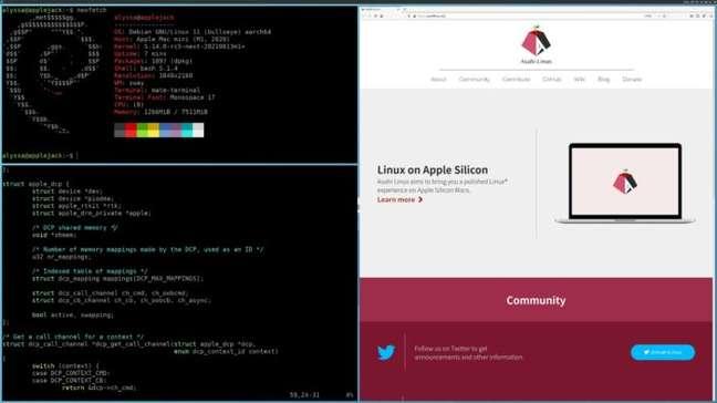 Debian em um Mac com M1