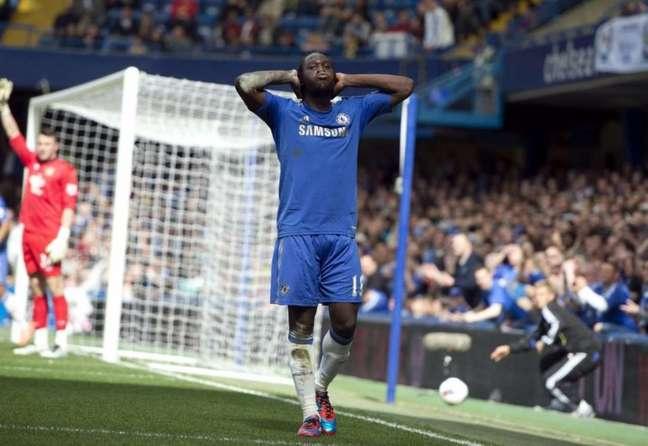 Lukaku entrou em campo apenas 15 vezes na primeira passagem pelo Chelsea (Foto: MIGUEL MEDINA / AFP)
