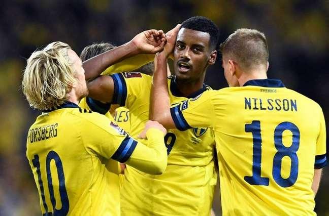 Suécia vem de triunfo sobre Kosovo (Foto: Erik SIMANDER / AFP)