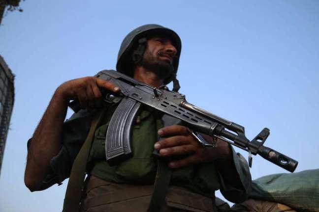 Combatente do Talibã no Afeganistão
