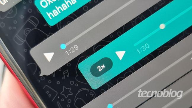 WhatsApp terá botão para pausar a gravação de mensagens de voz