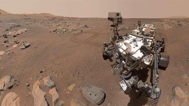 La misión de Perseverance es recolectar muestras de rocas y enviarlas a la Tierra.