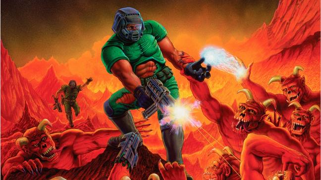 Capa original do Doom de 1993