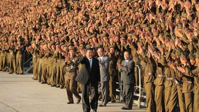 'Todos seguem convicção de obediência final ao Líder Supremo', diz Kim
