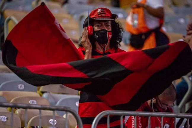 Torcida do Flamengo estará presente na arquibancada do Maracanã (Foto: Paula Reis/Flamengo)