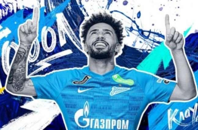 Brasileiro foi destaque do mês no Zenit (Divulgação/Zenit)