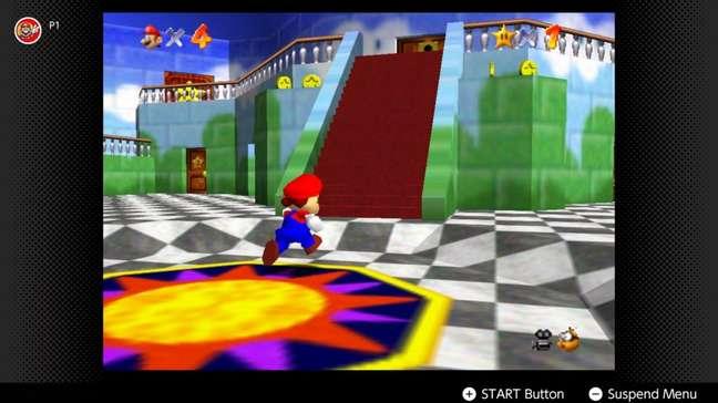 Super Mario 64 estará no pacote adicional de jogos do Switch Online