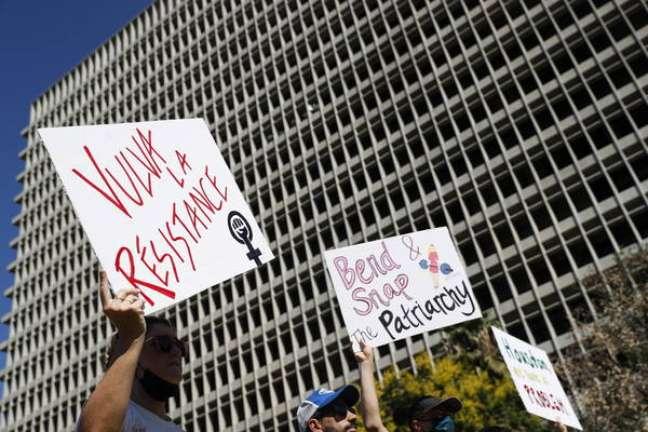 Lei do Texas gerou protestos em vários estados dos EUA