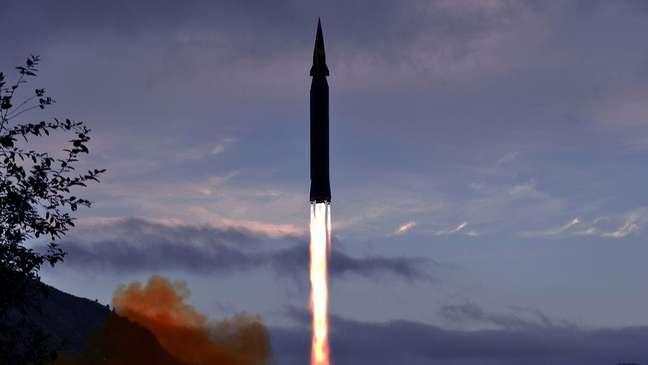 Coreia do Norte vem testando mísseis balísticos