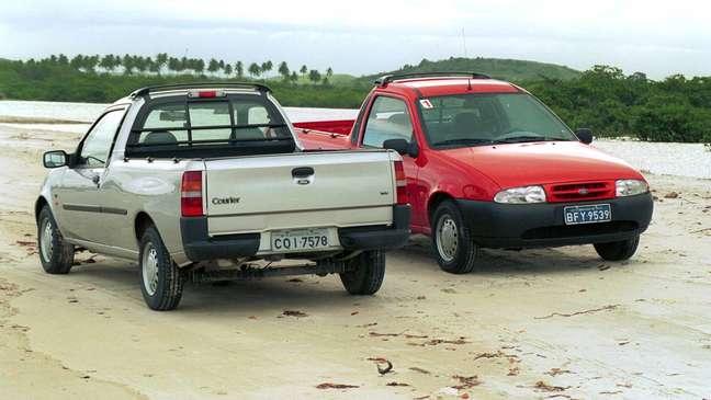 Ford Courier: oferecida no Brasil de 1997 a 2013