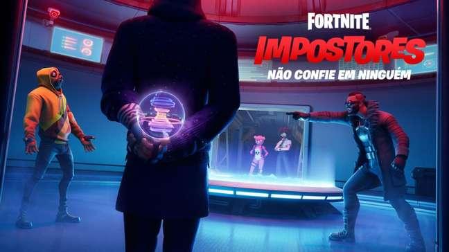 Modo Impostores em Fortnite