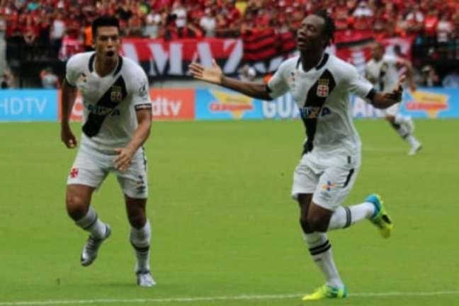 Vasco venceu o Flamengo no clássico em Manaus (Foto: Carlos Gregório Jr/Vasco.com.br)