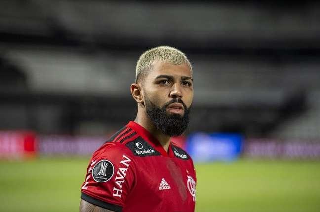 Gabriel Barbosa é o camisa 9 da Seleção Brasileira e do Flamengo (Foto: Alexandre Vidal/Flamengo)