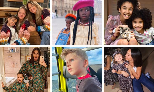 Filhos estilosos de pais famosos (Fotos: Reprodução/Instagram)