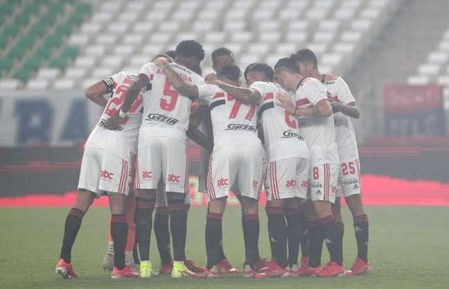 São Paulo tem confrontos diretos pela frente no Campeonato Brasileiro (Foto: Rubens Chiri/saopaulofc.net)