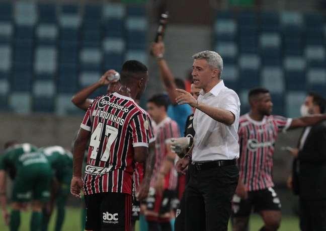 Crespo falou sobre os números ruins do ataque do São Paulo (Foto: Rubens Chiri/saopaulofc.net)