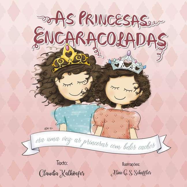 Capa do livro 'As Princesas Encaracoladas'
