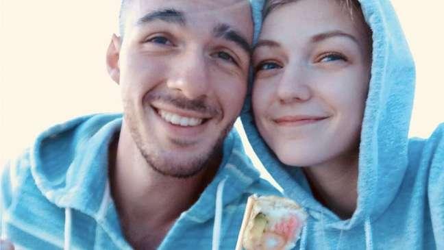 Brian Laundrie e a noiva Gabby Petito