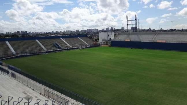 Estádio da Colina, em Manaus (Foto: Divulgação / Seinfra)