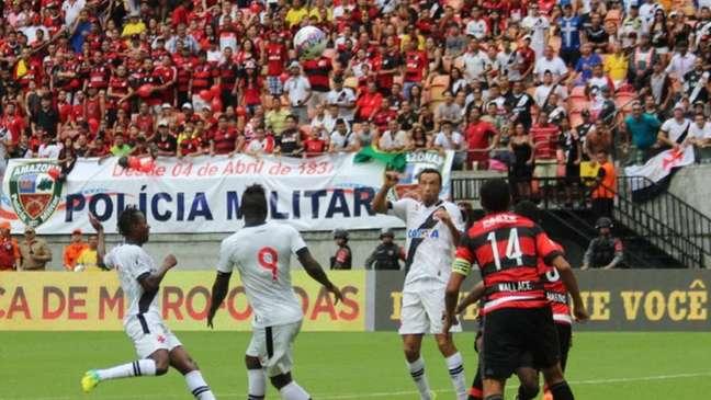 Vasco x Flamengo na Arena da Amazônia em 2014 (Foto: Carlos Gregório Jr/Vasco.com.br)