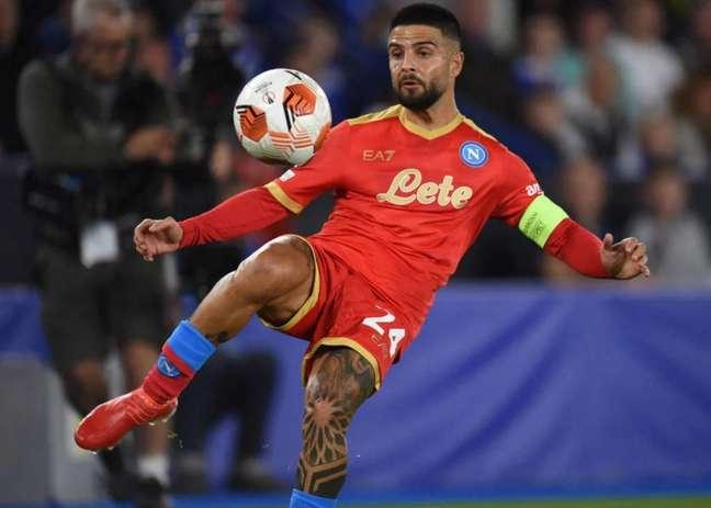 Insigne chegou ao Napoli nas categorias de base e é um dos maiores ídolos do clube (Foto: OLI SCARFF / AFP)