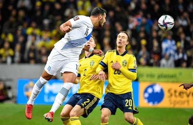 Suécia alcançou a liderança do Grupo B das Eliminatórias (Foto: Jessica GOW / TT News Agency / AFP)