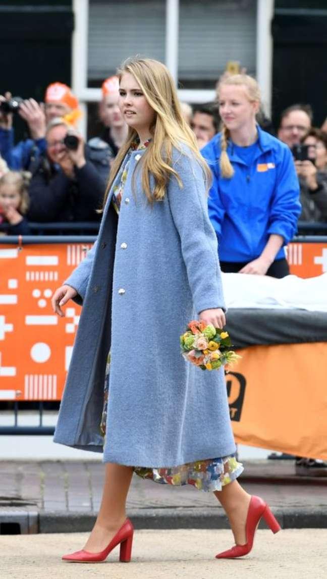 Princesa Catharina-Amalia da Holanda 27/04/2019.  REUTERS/Piroschka van de Wouw