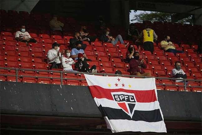 São Paulo teve lucro no clássico contra o Santos, na semana passada (Foto: Paulo Pinto / saopaulofc.net)