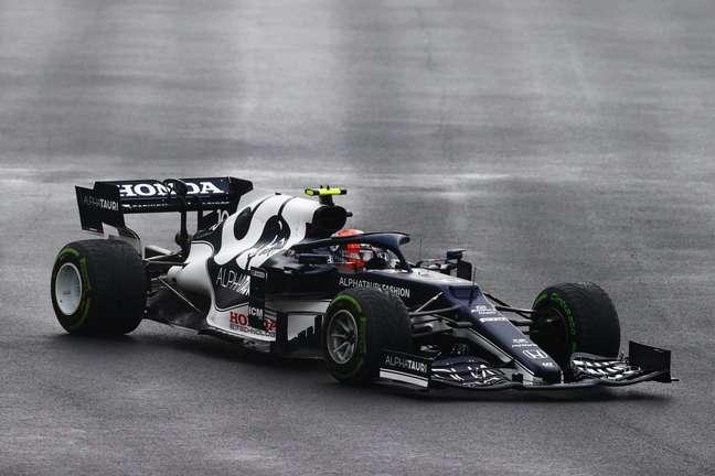 Pierre Gasly fechou o GP da Turquia em 6º lugar