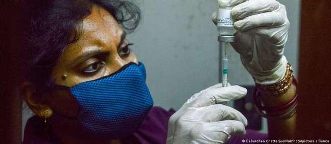A vacina anticovid Covaxin não possui a aprovação emergencial da OMS, mas já foi aplicada 110 milhões de vezes na Índia