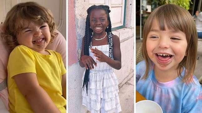 Alerta de fofura: Clara Maria, Titi e Zoe.
