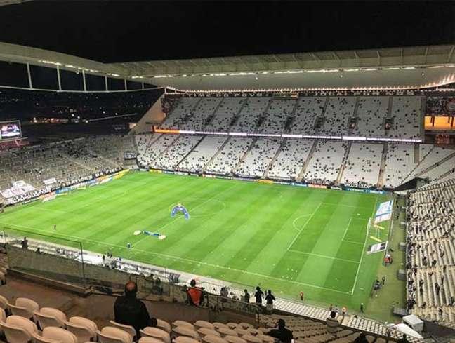 Timão pegará Fortaleza em 6 de novembro, quando terá capacidade máxima da Arena liberada (Foto: Pedro Alvarez)