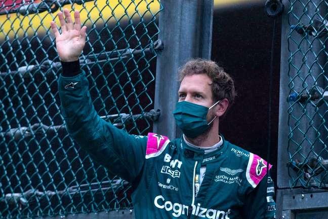 Sebastian Vettel defendeu a vacinação como uma atitude em prol do bem coletivo