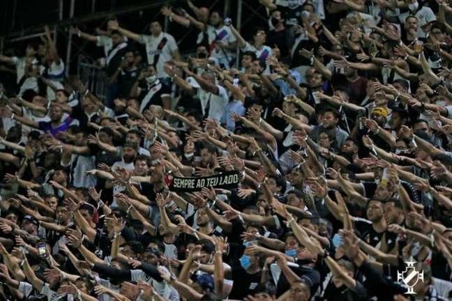 Vasco aposta na força da torcida para conseguir voltar elite do futebol brasileiro (Foto: Rafael Ribeiro / Vasco)