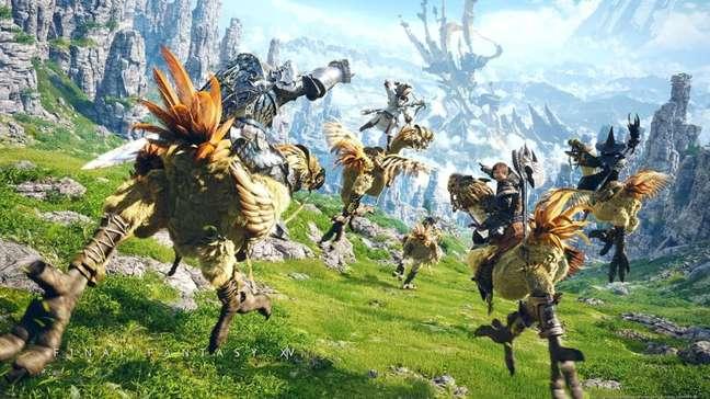 Final Fantasy 14 é o MMORPG da Square Enix