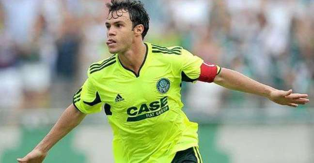 Kleber nos tempos de Palmeiras (Foto: Divulgação)