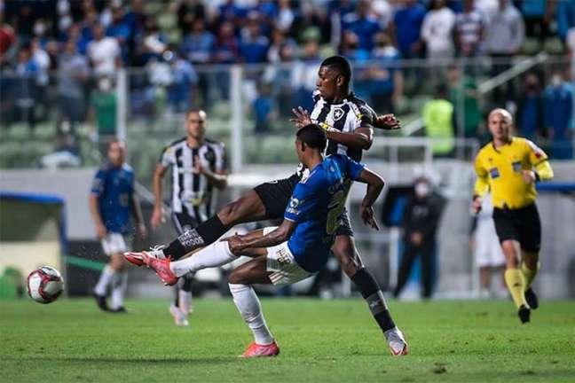 Cruzeiro e Botafogo fizeram o segundo jogo da 30ª rodada da Série B (Foto: Bruno Haddad/Cruzeiro)