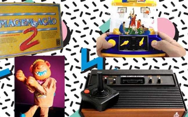 Brinquedos dos anos 80 e 90 - Divulgação