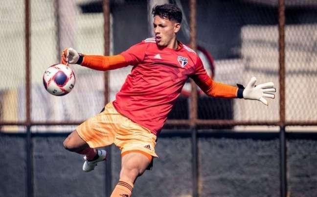 Levy, goleiro do Sub-20 do São Paulo (Foto: Divulgação)