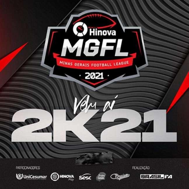 A Liga MGFL Hinova retoma o Futebol Americano no Brasil após um ano parado devido à pandemia de Covid-19-(Divulgação/MGFL)