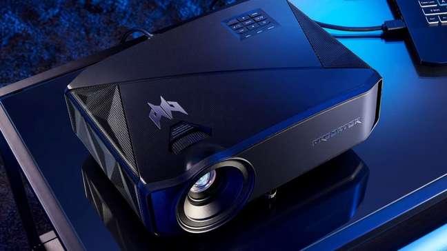 Novos projetores gamer da Acer suportam resolução 4K e taxa de atualização variável