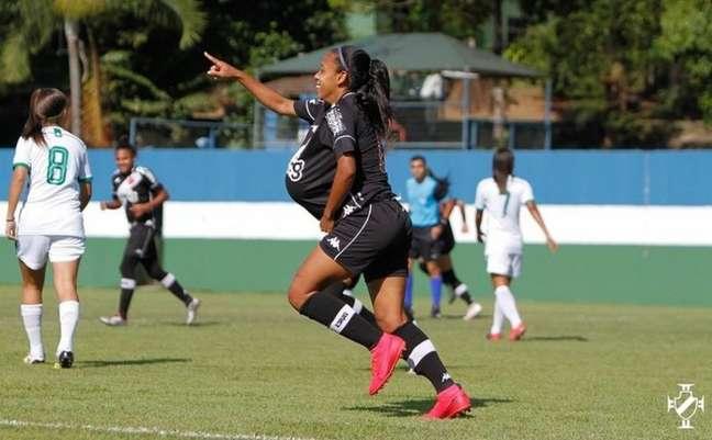 Vasco goleia o Boavista por 5 a 0 pela Taça Guanabara de futebol feminino (Matheus Lima/Vasco)