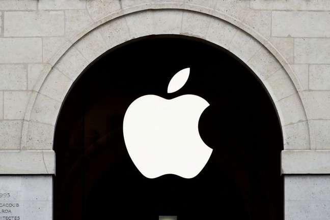Logotipo da Apple. 15/7/2020.  REUTERS/Gonzalo Fuentes