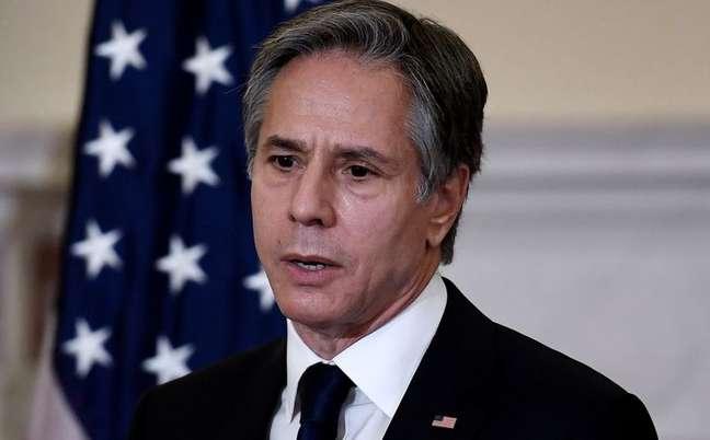 Secretário de Estado dos EUA, Antony Blinken, em Washington 28/09/2021 Olivier Douliery/Pool via REUTERS