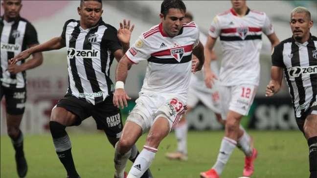 São Paulo encara o Ceará nesta quinta-feira (14) (Rubens Chiri / saopaulofc.net)