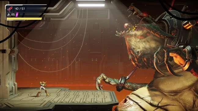 O vilão Kraid está de volta em Metroid Dread