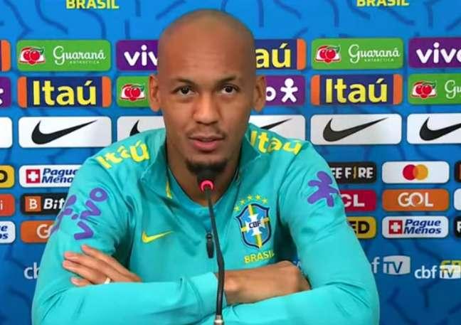 'Somos a Seleção Brasileira, queremos sempre melhorar', disse o volante (Reprodução / CBF TV)